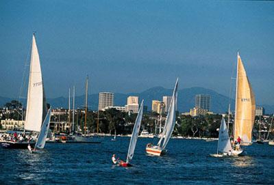 Sailing In Newport Bay Photo Courtesy Of Ocbook