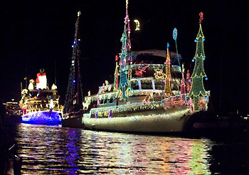 Newport Beach Christmas Boat Parade of Lights