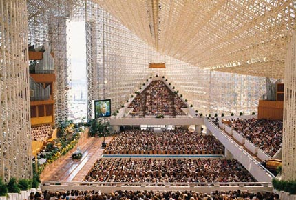 The Former Crystal Cathedral, Garden Grove. Located In Northern Orange  County, California ...